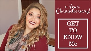 Get To Know Me! | 1-Year Channelversary