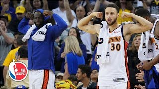 The Warriors treat Oakland to a show in the final regular-season game at Oracle | NBA Highlights