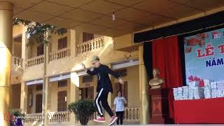 Nhảy shuffle dance cực chất chuẩn soái ca đẹp trai trường người ta