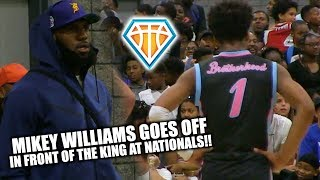 LeBron James Watches Mikey Williams BALL OUT at USBA Nat'ls!! | NCBC UNDEFEATED in Pool Play