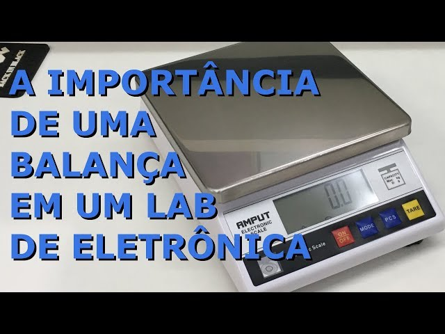 REVIEW BALANÇA DIGITAL AMPUT