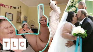 Tammy Surprises Amy With A Stripper For Her Bachelorette Party! | 1000-Lb Sisters