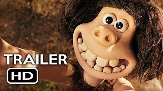Early Man Official Trailer #4 (2018) Eddie Redmayne, Tom Hiddleston Animated Movie HD