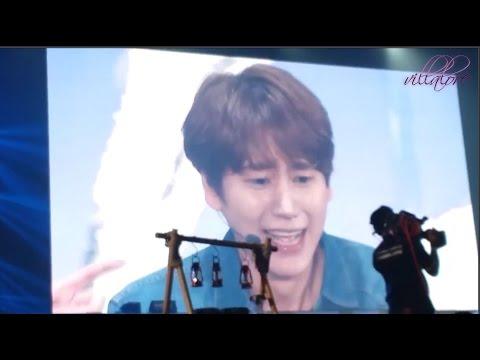 Scared Kyuhyun & bullying leader Leeteuk!