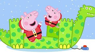 Peppa Pig Official Channel | George Pig's Best Day with Dinosaur on Christmas Day