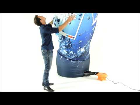 ExpandaBrand Custom Advertising Inflatables How to set up and dismantle your Inflatables