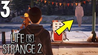 *SECRET SCENE* WE RUN INTO OUR DADS GHOST - Life Is Strange 2 Gameplay - Part 4 Chapter 1