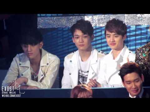121229 SBS gayo daejeon - EXO during