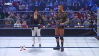 Randy Orton Interupts Vickie Guerrero And Hits An RKO
