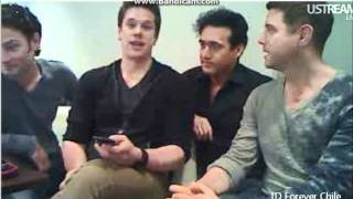 Video Chat Il Divo (PART IV) 28/10/2011