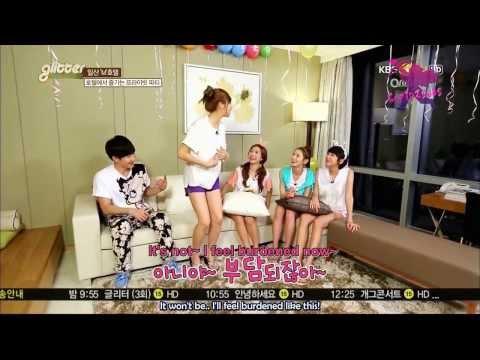 [ENG SUB] 130816 KBS Joy Glitter - Hellovenus Nara & Yooyoung, SUJU-M Zhou Mi CUT
