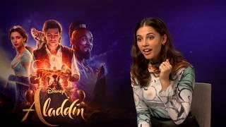 Naomi Scott on auditioning for Aladdin