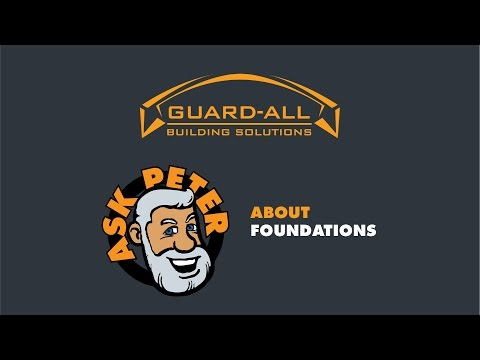 Ask Peter | Foundations | Guard-All Building Solutions