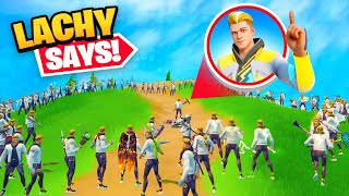 So I got 100 Lachlan Skins in a Game of Fortnite!