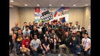 Nintendo Minute Super Mario Party Tournament Bonus Match with Kit and Krysta