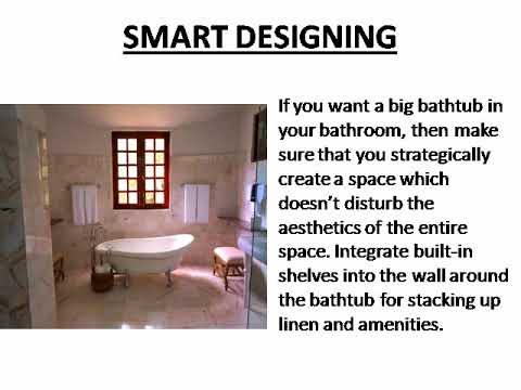 5 décor ideas that will make you forget how small your bathroom is