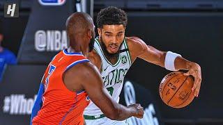 Oklahoma City Thunder vs Boston Celtics - Full Game Highlights | July 24, 2020 | 2019-20 NBA Season