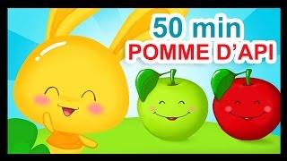Pomme de reinette et pomme d'api - 50 min de comptines Titounis