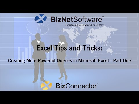 Create More Powerful Queries in Microsoft Excel