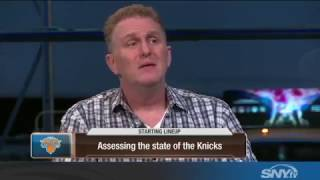 Michael Rapaport rants about the New York Knicks