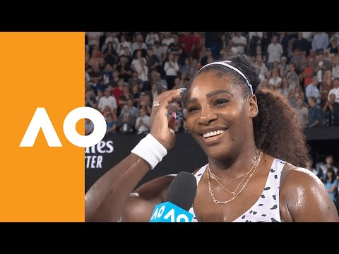 "Serena Williams: ""I knew I had to step up"" 