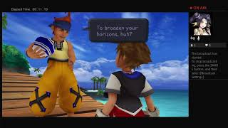 Kingdom hearts 1: lets see how far I make it!!!!! (part 1)