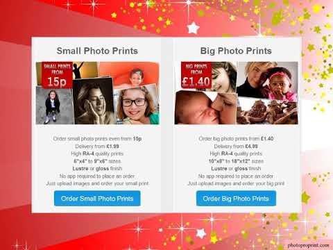 Digital Photo Printing Online
