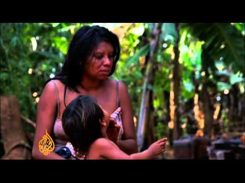 Indigenous Brazilians fight for land rights