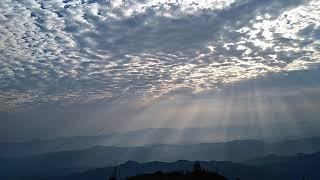 Cận cảnh hiện tượng mây quá đẹp tại liêm phú văn bàn Lào cai