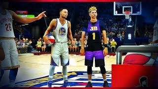 Ball Brothers MyCareer #5 LAMELO BALL VS STEPHEN CURRY 3 POINT CONTEST SUDDEN DEATH