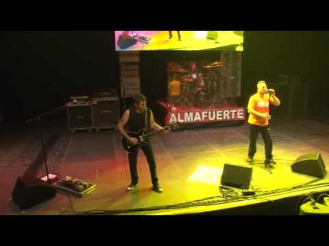 Almafuerte Malvinas Argentinas DVD Completo (29/12/2012)