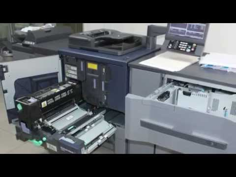Konica Minolta Bizhub PRESS c1070 - печатная машина - обзор