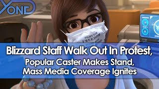 Blizzard Staff Walk Out In Protest, Caster Makes Stand, Media Coverage Ignites After Hearthstone Ban