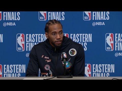 Kawhi Leonard Postgame Interview - Game 5 | Raptors vs Bucks | 2019 NBA Playoffs