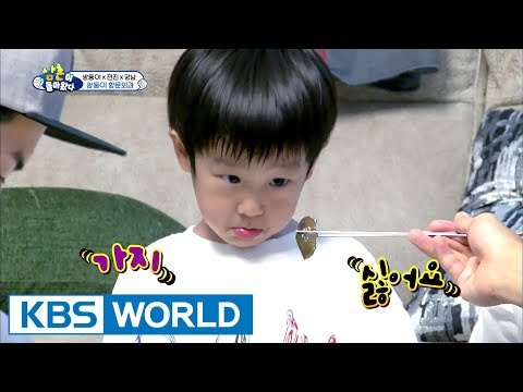 Uncles' plan to correct twins' habit of eating only what they want! [TROS /2017.09.10]