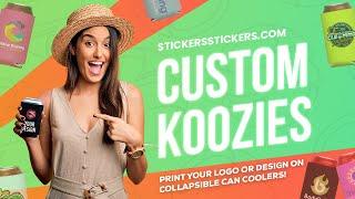 Custom Can Koozies