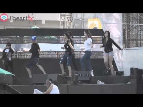[FANCAM] 130812 f(x) - Rum Pum Pum Pum at Show Champion Rehearsal