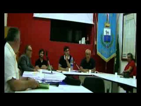 CONSIGLIO COMUNALE - ROFRANO - 27 AGOSTO 2012 - STRALCIO VIDEO - DISCUSSIONE SULL'ACQUA