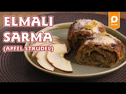 Elmalı Sarma (Apfel Strudel) Tarifi