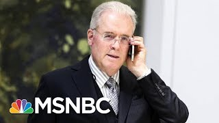 Conservative Donor Robert Mercer Stepping Down From Hedge Fund | Velshi & Ruhle | MSNBC