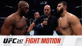 UFC 247: Fight Motion