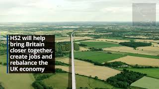 HS2 Phase 2a Crewe to Birmingham route