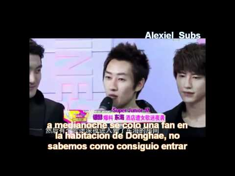 Super Junior M -  mini entrevista y el