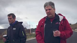 CFB on FOX; Interview: Mike Leach Walks to Work