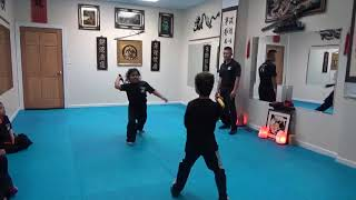 Kung Fu Kids - Nunchuck Sparring