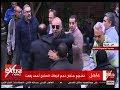 جانب من تشييع جثمان نجم الزمالك السابق أحمد رفعت
