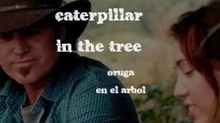 Butterfly fly away - Miley Cyrus & Billy Ray Cyrus/Lyrics y Traduccion en pantalla