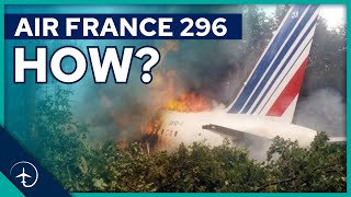 Why did this brand NEW Airbus A320 CRASH during an airshow?! Air France flight 296