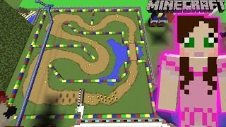 Minecraft: MARIO KART RACE - FUN TIME PARK [10]