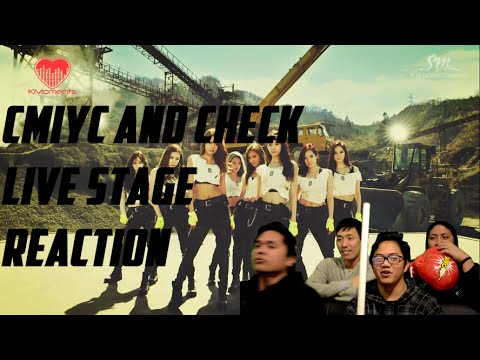 [4LadsReact] Girls' Generation (SNSD/소녀시대) Catch Me If You Can + Check Live stage Reactions